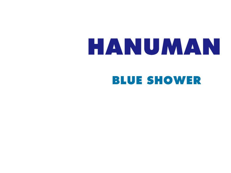 Hanuman New single 'Blue Shower' PV